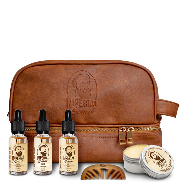 IMPERIAL BEARD KIT - OILS AND WAX